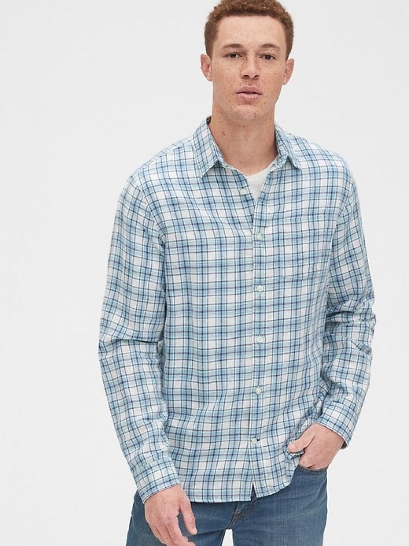 [Gap全面5折再9折] Gap 男士襯衫-多色可選 $13.50(原價$59.95)