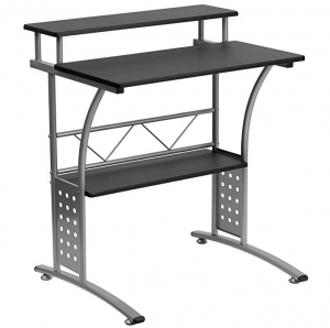 ihocon: Flash Furniture Clifton Black Computer Desk 電腦桌