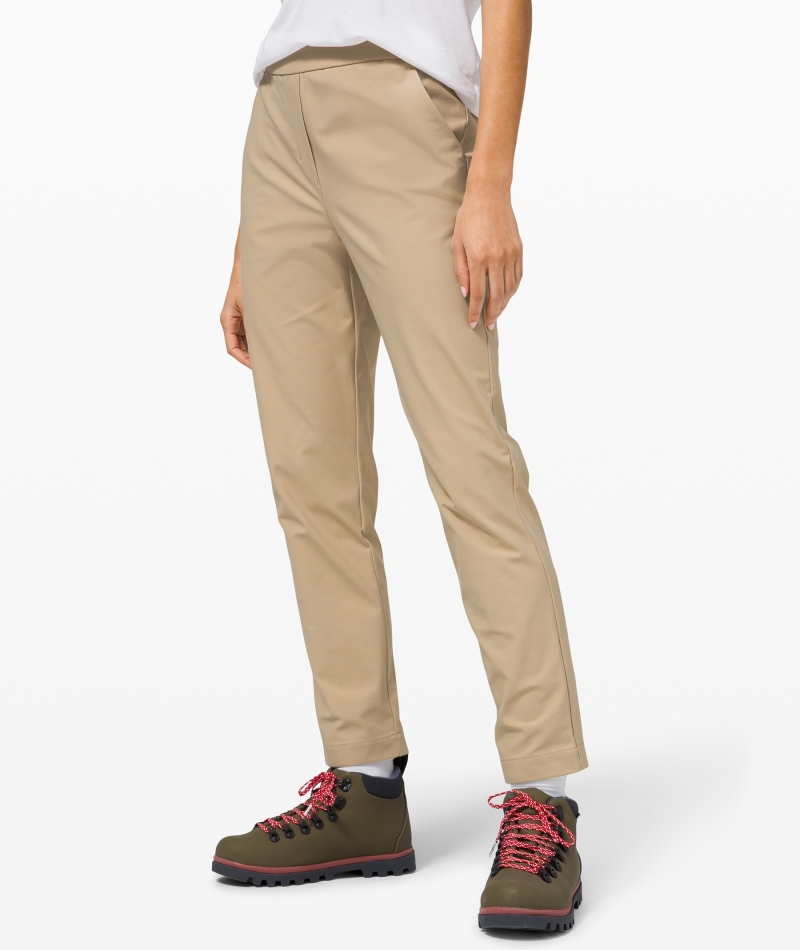 ihocon: lululemon Your True Trouser 7/8 Pant 女士9分褲
