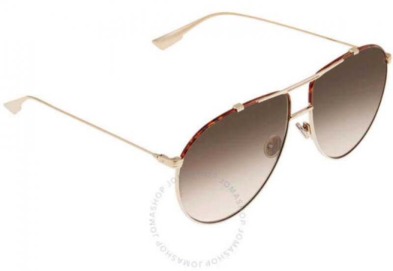 ihocon: Dior Brown Gradient Aviator Ladies Sunglasses 女士太陽眼鏡