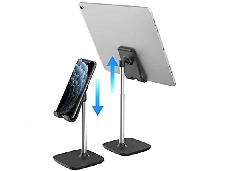 ihocon: Aduro Elevate Adjustable Height Phone Holder 可調高度手機/平板電腦支架