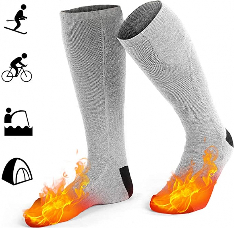 ihocon: GREATSSLY Heated Socks, Foot Warmers for Men & Women, 10 Hours Continuous Heating, Rechargeable 充電式加熱襪