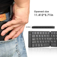 ihocon: ViFun Foldable Bluetooth Keyboard in Portable Pocket Size 便攜口袋型藍牙小鍵盤