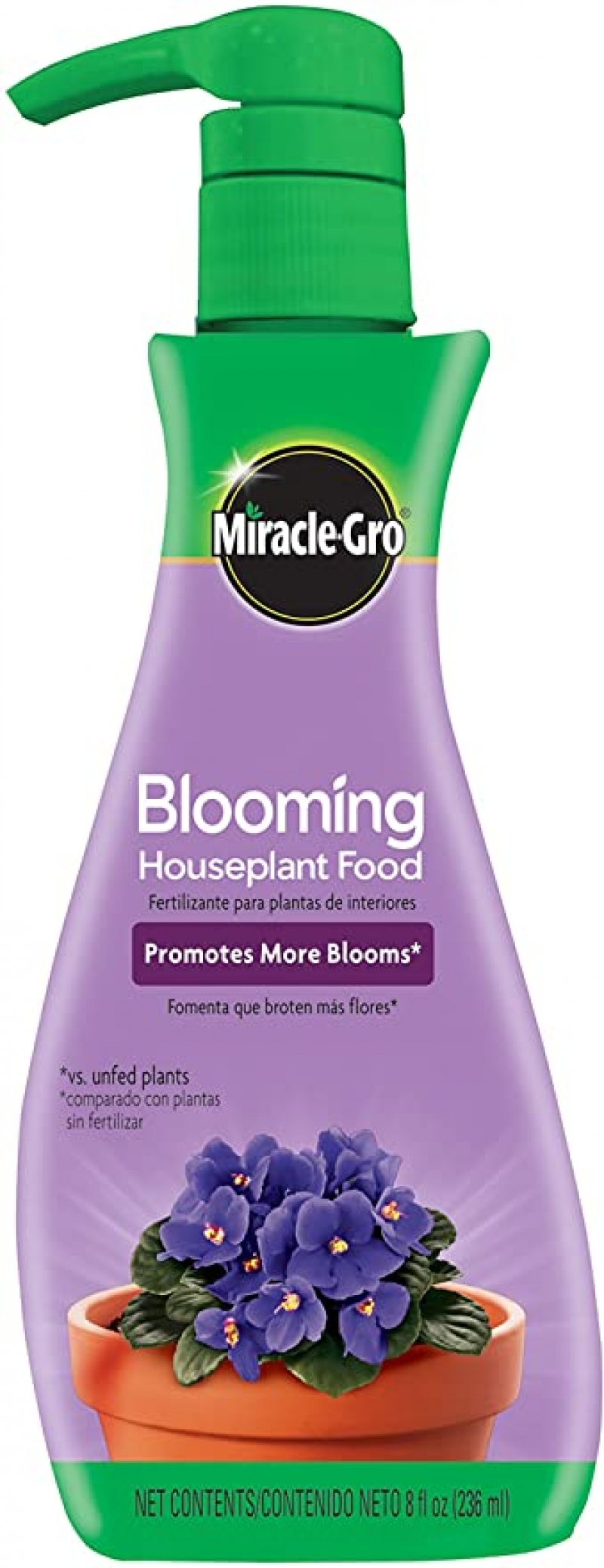 ihocon: Miracle-Gro Blooming Houseplant Food, 8 oz. 室內植物花肥