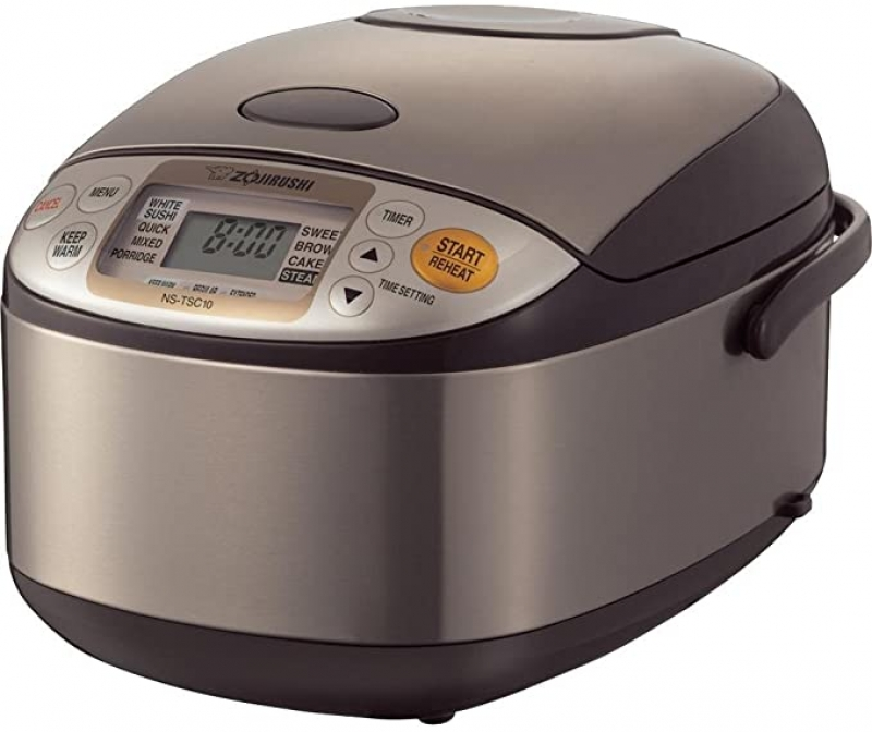 ihocon: Zojirushi NS-TSC10 5-1/2-Cup (Uncooked) Micom Rice Cooker and Warmer, 1.0-Liter 電飯鍋