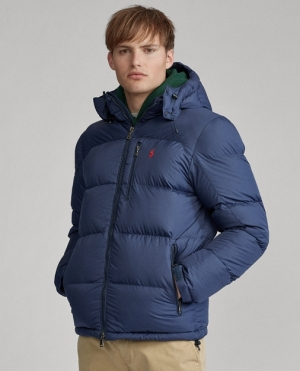 ihocon: Polo Ralph Lauren Water-Repellent Down Jacket 男士羽絨夾克 - 2色可選