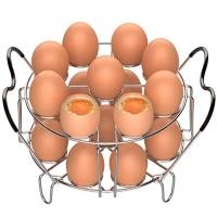ihocon: Veckle 2 Pack Egg Steamer Rack 可疊放雞蛋蒸架