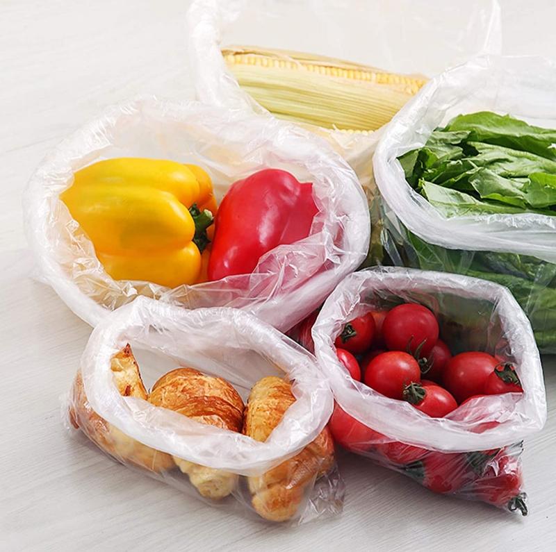 ihocon: 9527 Product 14 x 20 Plastic Clear Produce Bag Food Storage Bag,350 Bags/Roll 塑膠袋