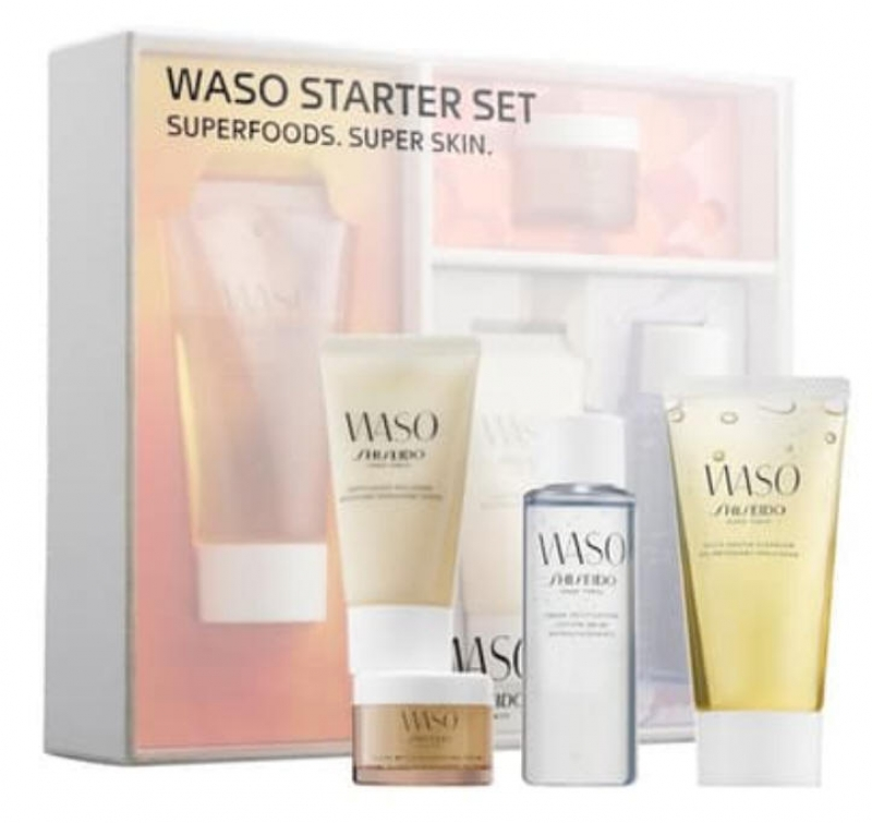 ihocon: Shiseido資生堂 Ginza Tokyo Superfoods Super Skin Waso Starter Set 保養組