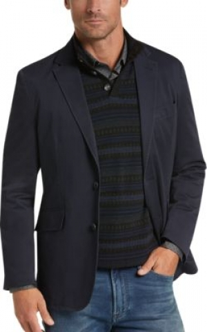 ihocon: Joseph Abboud Navy Casual Coat  男士休閒西裝外套