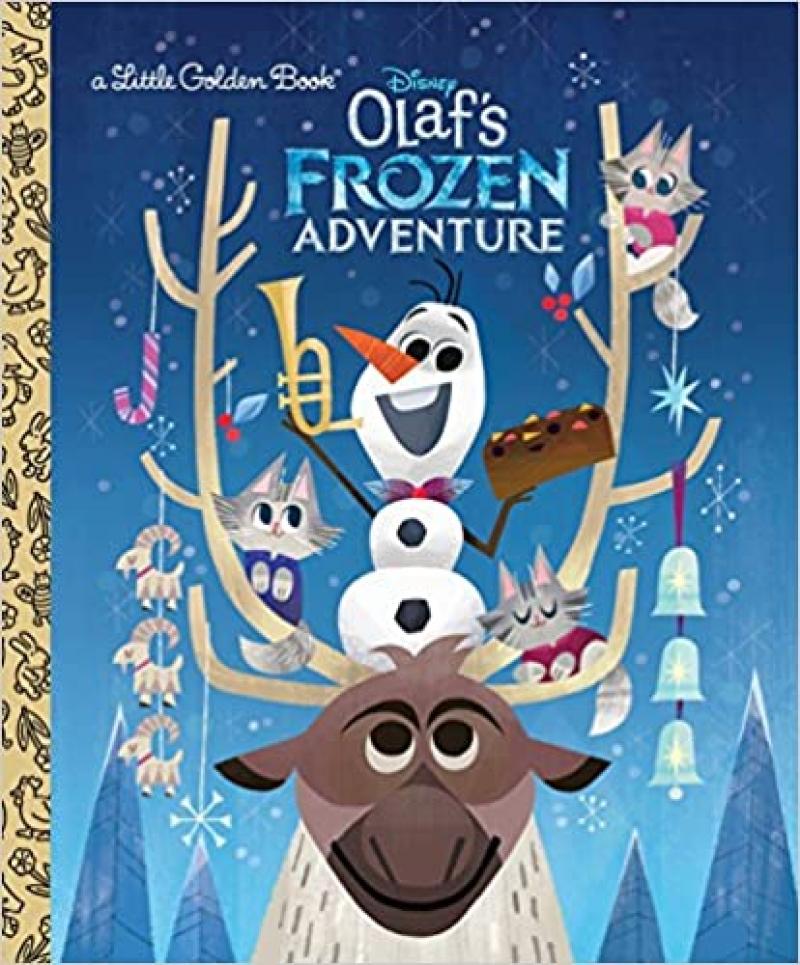 ihocon: Olaf's Frozen Adventure Little Golden Book (Disney Frozen) 精裝本童書
