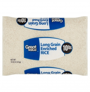 ihocon: Great Value Long Grain Enriched Rice, 10 lbs 長米