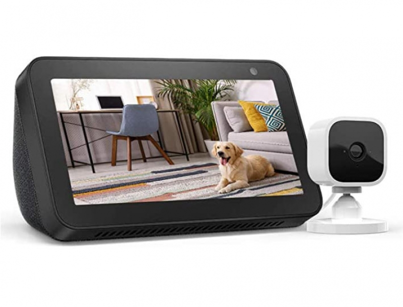 ihocon: Echo Show 5 + Blink Mini Indoor Smart Security Camera