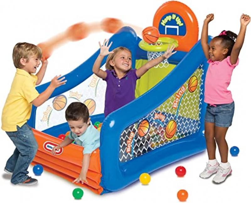 ihocon: Little Tikes Hoop it up Value Pack 兒童投球遊戲池