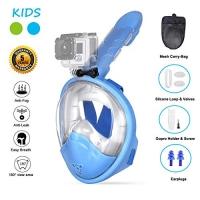 ihocon: Ufanore Full Face Snorkel Mask 全罩式浮潛面罩,含可拆運動相機固定架