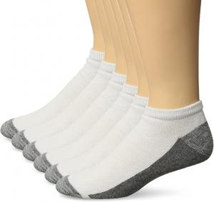 ihocon: Hanes Men's Comfortblend Max Cushion 6-pack, Shoe Size: 6-12 男襪
