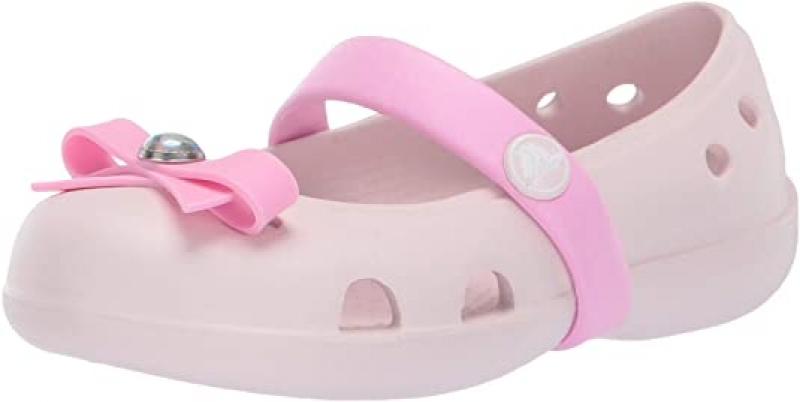 ihocon: Crocs Unisex-Child Keeley Charm Flat Mary Jane 童鞋