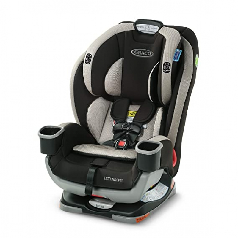 ihocon: Graco Extend2Fit 3-in-1 Car Seat 3合1兒童汽車座椅