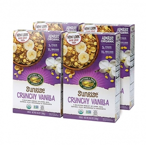 ihocon: Nature's Path Organic Crunchy Sunrise Vanilla Cereal, 4Count