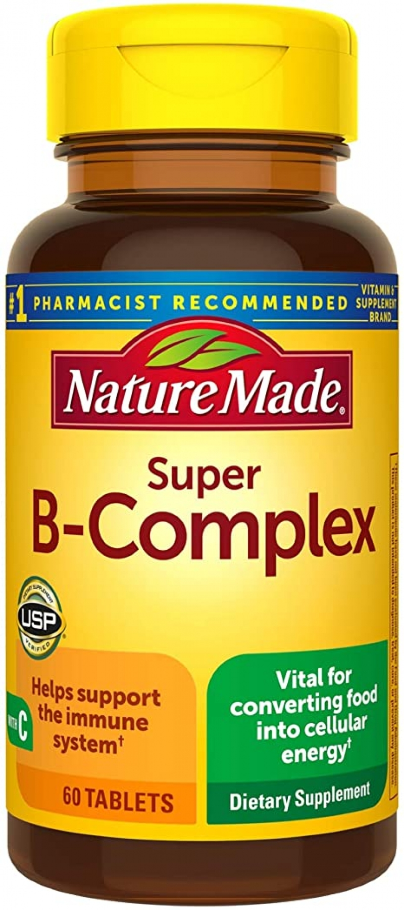 ihocon: Nature Made Super B-Complex Tablets, 60 Count