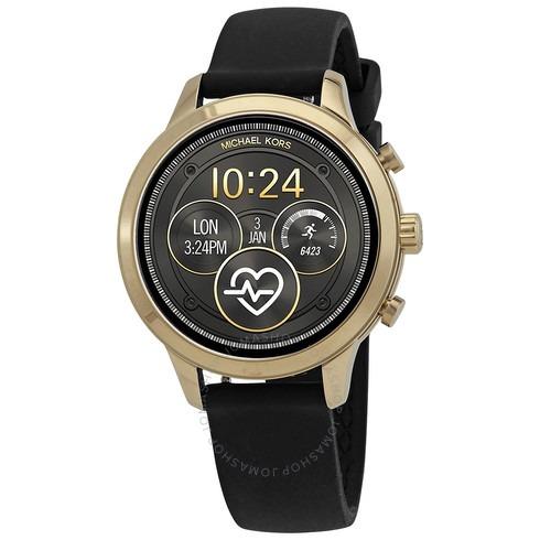ihocon: Michael Kors Access Gen 4 Runway Silicone Strap Touchscreen Smartwatch 41mm     智能錶