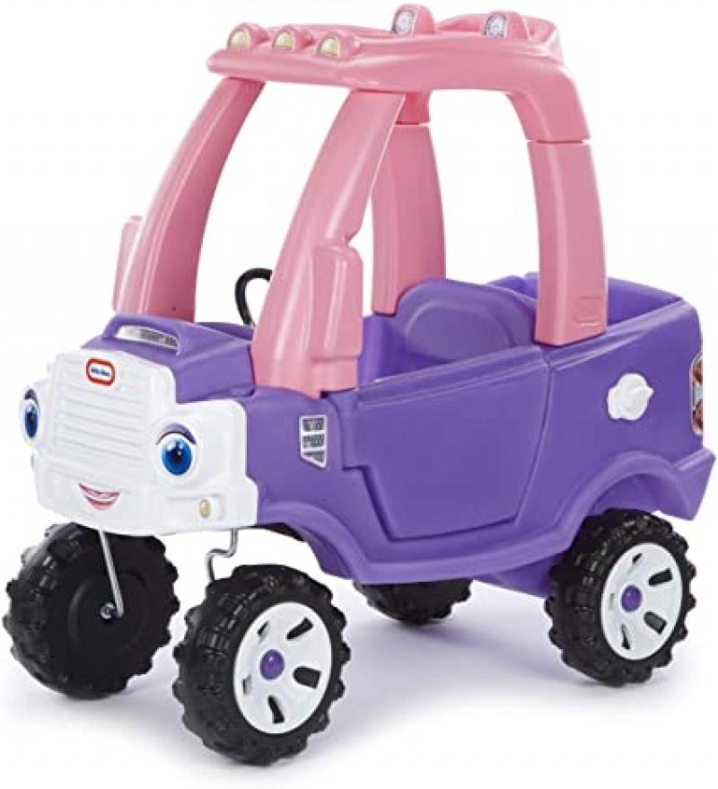 ihocon: Little Tikes Princess Cozy Truck 兒童腳行車