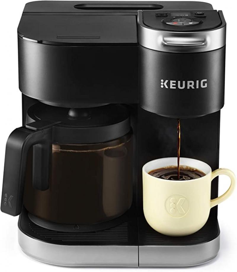 ihocon: Keurig K-Duo Coffee Maker 咖啡機(可用咖啡膠囊及研磨咖啡粉)
