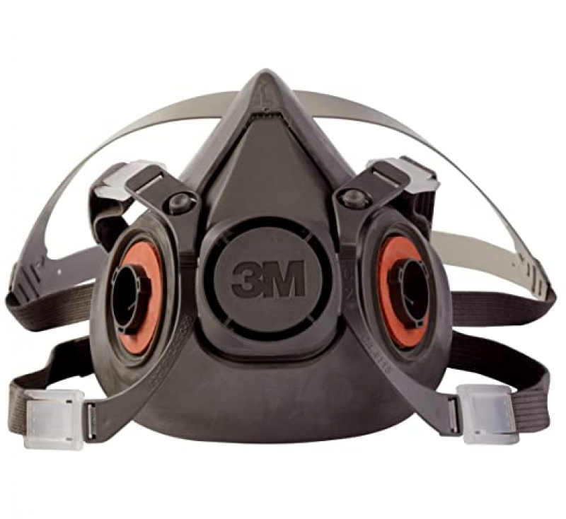 ihocon: 3M Half Facepiece Reusable Respirator 6300防毒面具(不含濾芯)
