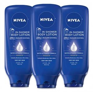 Amazon買$25立減$5, 像是6瓶NIVEA 身體乳才$26.24. 算起來一瓶才$4.37
