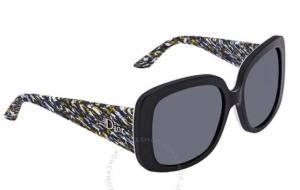 ihocon: Dior Ladylady Grey Gradient Rectangular Ladies Sunglasses  女士太陽眼鏡