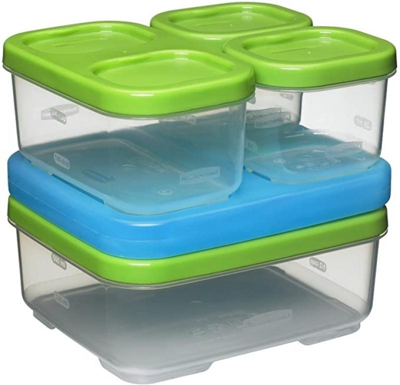 ihocon: Rubbermaid LunchBlox Sandwich Kit 食物保鮮盒