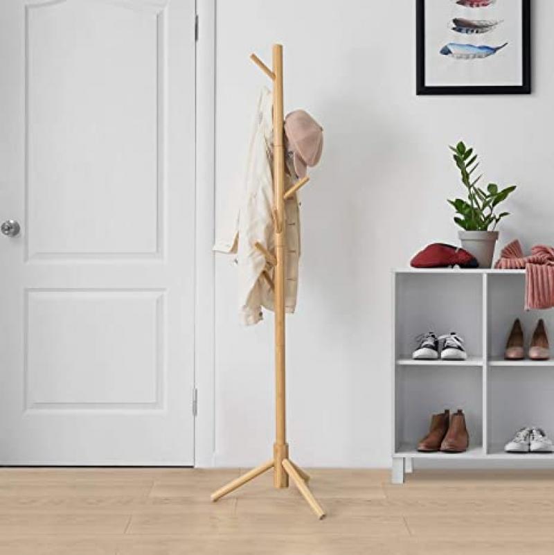 ihocon: BedStory Freestanding Coat Rack Stand衣帽架