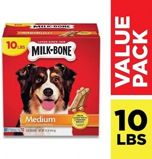 ihocon: Milk-Bone Original Dog Treats, Cleans Teeth, Freshens Breath 狗狗潔牙零食