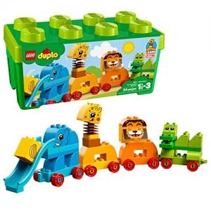 ihocon: LEGO DUPLO My First Animal Brick Box 10863 Building Blocks (34 Piece)