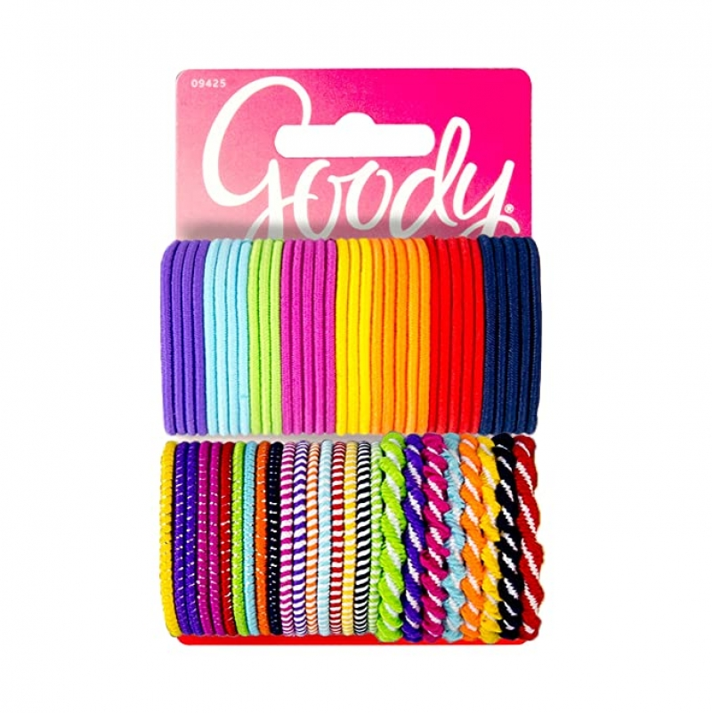 ihocon: Goody Girls Ouchless Hair Elastics (60 Pieces) 綁髮圈