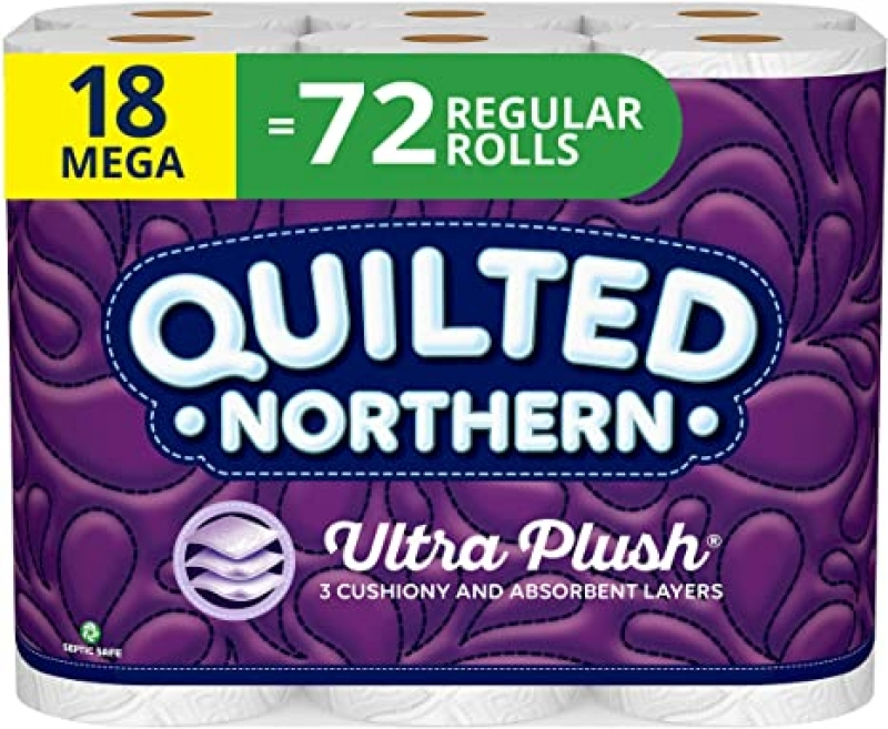 ihocon: Quilted Northern Bathroom Tissue, 18 Count 廁所衛生紙
