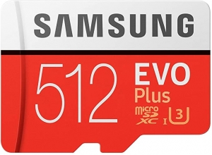 ihocon: Samsung Memory MB-MC512GAEU 512GB Evo Plus Micro SD Card with Adapter 記憶卡
