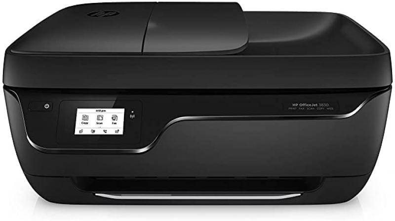 ihocon: HP OfficeJet 3830 All-in-One Wireless Printer, Works with Alexa 無線多功能印表機
