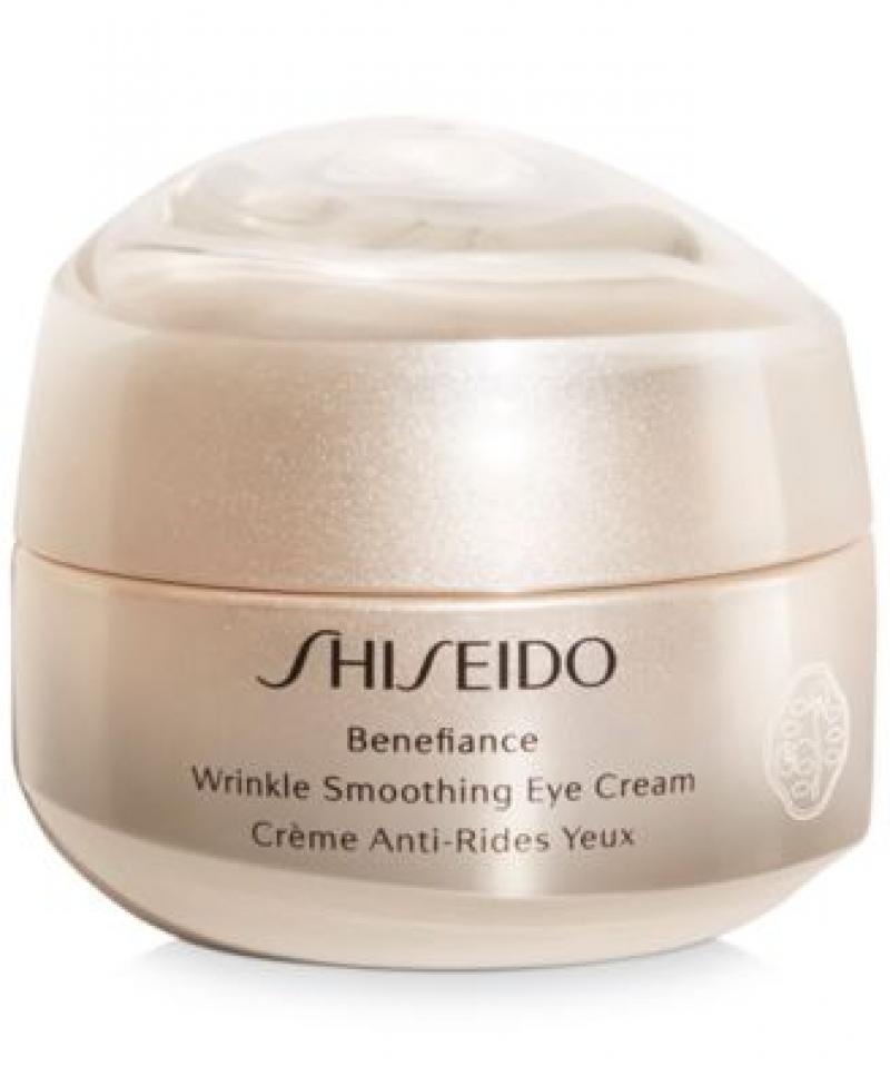 ihocon: Shiseido Benefiance Wrinkle Smoothing Eye Cream, 0.51-oz. 資生堂除皺眼霜