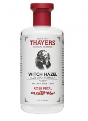 ihocon: Thayers Alcohol-free Rose Petal Witch Hazel- 12oz 玫瑰金縷梅水