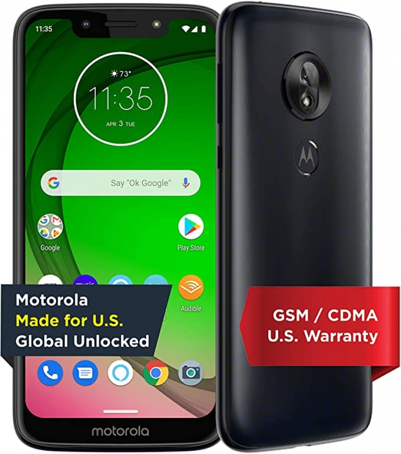 ihocon: Moto G7 Play with Alexa Push-to-Talk 32 GB Unlocked無鎖手機
