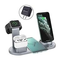 ihocon: ZHOUBIN 4 in 1 Wireless Charging Station 無線充電座