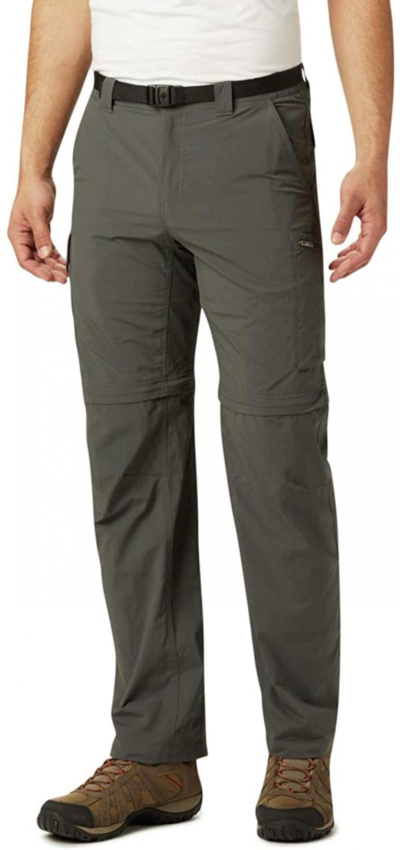 ihocon: Columbia Men's Silver Ridge Convertible Pants 男士長褲, 可缷下褲腿變短褲