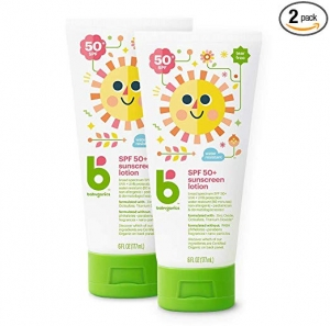 ihocon: Babyganics Sunscreen Lotion 50 SPF, 6oz, 2 Pack, Packaging May Vary 防曬乳