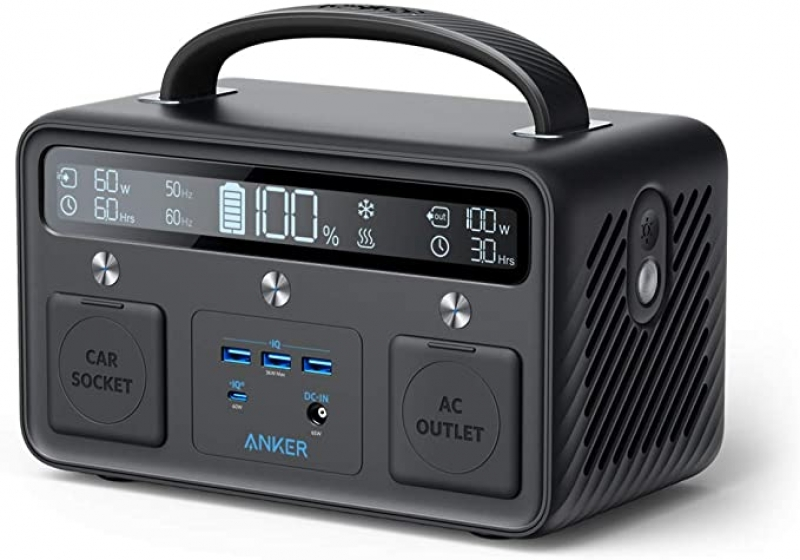 ihocon: Anker Portable Power Station PowerHouse II 400, 300W/388.8Wh, 110V AC Outlet/60W 行動電源