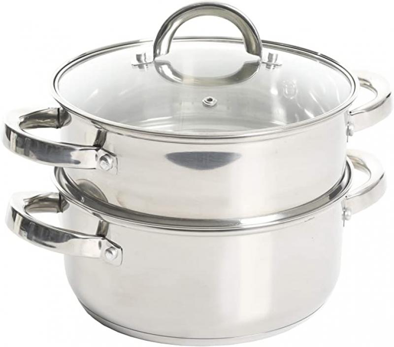 ihocon: Oster Sangerfield Stainless Steel Cookware, 3.0-Quart 不銹鋼蒸鍋
