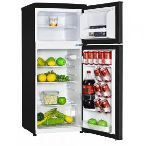ihocon: Magic Chef 4.5 cu. ft. 2 Door Mini Fridge in Black with Freezer 小型冰箱