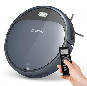 ihocon: Coredy Robot Vacuum Cleaner, 1400Pa Super-Strong Suction, Self-Charging自動充電吸地機器人
