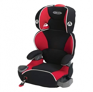 ihocon: Graco Affix Youth Booster Seat with Latch System, Atomic 兒童汽車座椅