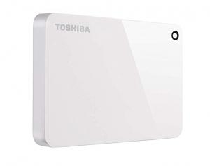 ihocon: Toshiba Canvio Advance 2TB Portable External Hard Drive USB 3.0, White (HDTC920XW3AA) 外接硬碟